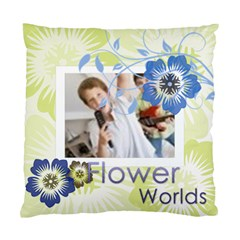 Flower Worlds By Joely   Standard Cushion Case (two Sides)   Np8x2rrfk18m   Www Artscow Com Back