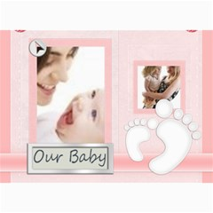 Baby Card By Joely   5  X 7  Photo Cards   E0wqpxvdn3bd   Www Artscow Com 7 x5 Photo Card - 5
