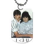 robert n tiffany dog tag - Dog Tag (One Side)