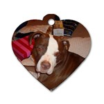 Dixie - Dog Tag Heart (Two Sides)