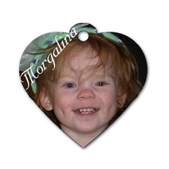By Rachel   Dog Tag Heart (two Sides)   Q7xt0j6f2f14   Www Artscow Com Front