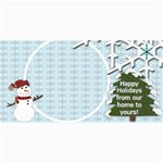 Christmas card templates- copy me - 4  x 8  Photo Cards