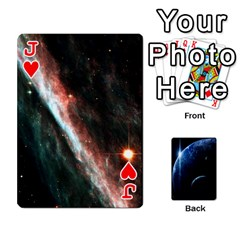 Jack Space Cards By Krista   Playing Cards 54 Designs   Ctci5ufglobx   Www Artscow Com Front - HeartJ