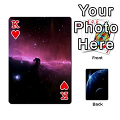 King Space Cards By Krista   Playing Cards 54 Designs   Ctci5ufglobx   Www Artscow Com Front - HeartK