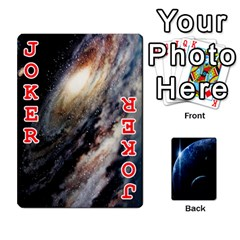 Space Cards By Krista   Playing Cards 54 Designs   Ctci5ufglobx   Www Artscow Com Front - Joker2