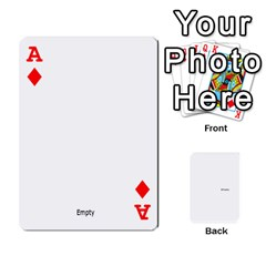 Ace Family Photo Playing Cards By Nicole Hendricks   Playing Cards 54 Designs   Hrgl5eh7w5sr   Www Artscow Com Front - DiamondA