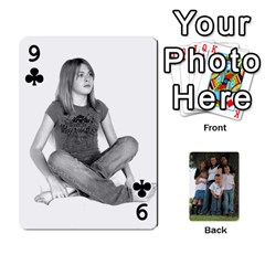 Cards By Nasha Vandevoord   Playing Cards 54 Designs   8n7gqvmx2rdh   Www Artscow Com Front - Club9
