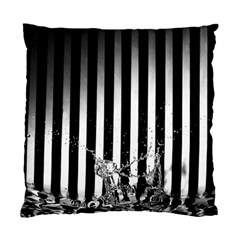 Zebra Water By Shahni Bidwell   Standard Cushion Case (two Sides)   X3pb06j7hp82   Www Artscow Com Back