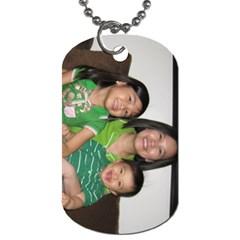 Our Family By Pinkishviolet   Dog Tag (two Sides)   U5c31kwwg4uf   Www Artscow Com Back