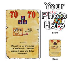 El Grande   Rey E Intriga (2/3) By Juan Luis Bermudez   Multi Purpose Cards (rectangle)   P79hvvp0pit6   Www Artscow Com Front 51