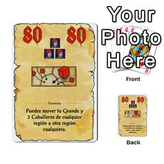 El Grande   Rey E Intriga (2/3) By Juan Luis Bermudez   Multi Purpose Cards (rectangle)   P79hvvp0pit6   Www Artscow Com Front 53