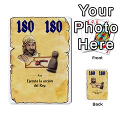 El Grande   Rey E Intriga (2/3) By Juan Luis Bermudez   Multi Purpose Cards (rectangle)   P79hvvp0pit6   Www Artscow Com Front 7