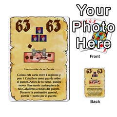 El Grande   Rey E Intriga (2/3) By Juan Luis Bermudez   Multi Purpose Cards (rectangle)   P79hvvp0pit6   Www Artscow Com Front 18