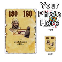 El Grande   Rey E Intriga (2/3) By Juan Luis Bermudez   Multi Purpose Cards (rectangle)   P79hvvp0pit6   Www Artscow Com Front 38