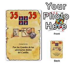El Grande   Rey E Intriga (2/3) By Juan Luis Bermudez   Multi Purpose Cards (rectangle)   P79hvvp0pit6   Www Artscow Com Front 45