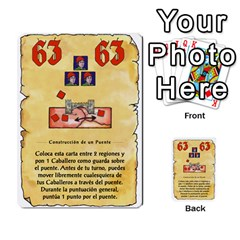 El Grande   Rey E Intriga (2/3) By Juan Luis Bermudez   Multi Purpose Cards (rectangle)   P79hvvp0pit6   Www Artscow Com Front 49