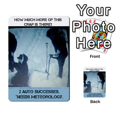 The Thing #3 By Mark Chaplin   Multi Purpose Cards (rectangle)   K4emxwn33acx   Www Artscow Com Front 33