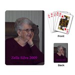 GRANDMA ZELLA CARDS - Playing Cards Single Design