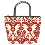 Bucket Bag - Red Toile