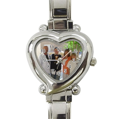 Watches By Kelly   Heart Italian Charm Watch   523zudorru7b   Www Artscow Com Front