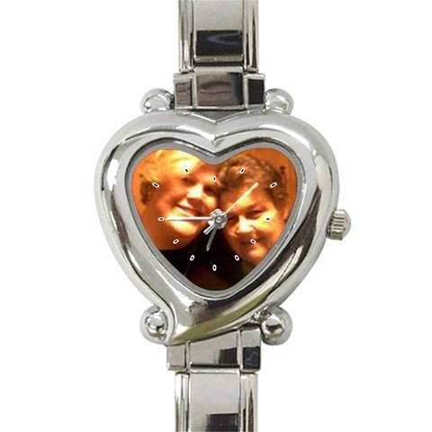 Marys Watch By Mary Cloud   Heart Italian Charm Watch   0x6kvi21xzwg   Www Artscow Com Front
