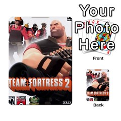 Team Fortress 2 Card Game By Pearson Lim Hui Chye   Multi Purpose Cards (rectangle)   E8ot1m7pk25d   Www Artscow Com Front 1