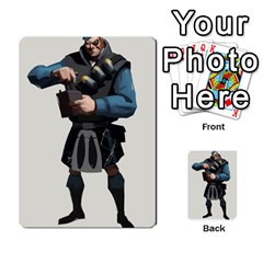 Team Fortress 2 Card Game By Pearson Lim Hui Chye   Multi Purpose Cards (rectangle)   E8ot1m7pk25d   Www Artscow Com Front 23