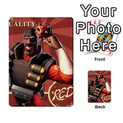 Team Fortress 2 Card Game By Pearson Lim Hui Chye   Multi Purpose Cards (rectangle)   E8ot1m7pk25d   Www Artscow Com Front 24