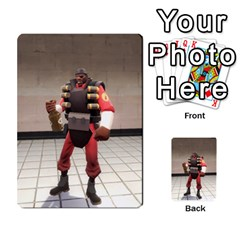 Team Fortress 2 Card Game By Pearson Lim Hui Chye   Multi Purpose Cards (rectangle)   E8ot1m7pk25d   Www Artscow Com Front 49