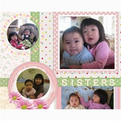 Sisters Project By Allison   Collage 8  X 10    3as8x55svjqu   Www Artscow Com 10 x8 Print - 1