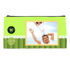Green Bag By Joely   Pencil Case   Zusln1umppcb   Www Artscow Com Front