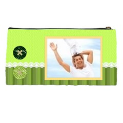 Green Bag By Joely   Pencil Case   Zusln1umppcb   Www Artscow Com Back