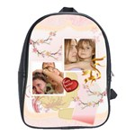 Pink bag - School Bag (Large)