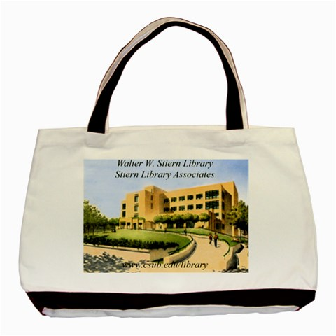 Library Tote By Sandra Bozarth   Basic Tote Bag   41o1hkcs25el   Www Artscow Com Front