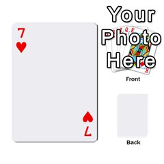 Mish s Cards Noosa  By Michelle Steele   Playing Cards 54 Designs   Zkac26m274xq   Www Artscow Com Front - Heart7