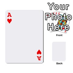 Ace Mish s Cards Noosa  By Michelle Steele   Playing Cards 54 Designs   Zkac26m274xq   Www Artscow Com Front - HeartA