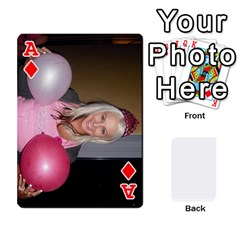 Ace Mish s Cards Noosa  By Michelle Steele   Playing Cards 54 Designs   Zkac26m274xq   Www Artscow Com Front - DiamondA