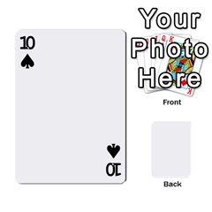 Mish s Cards Noosa  By Michelle Steele   Playing Cards 54 Designs   Zkac26m274xq   Www Artscow Com Front - Spade10