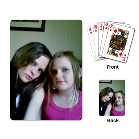 By Sarah Leigh Stevens   Playing Cards Single Design   Ry0bbf6v5yr1   Www Artscow Com Back