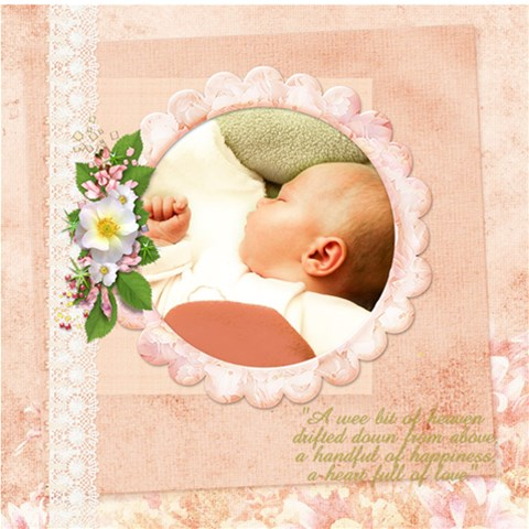 Wee One By Diann   Scrapbook Page 12  X 12    59pv5tsdufqd   Www Artscow Com 12 x12 Scrapbook Page - 1