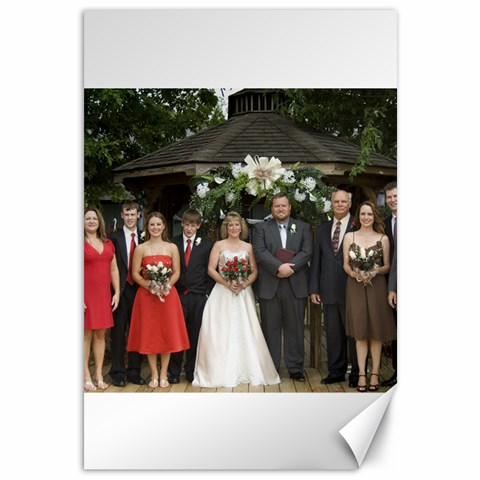 Wedding Picture 18 X 12  By Angela Emery   Canvas 12  X 18    3c1x8kv8we5w   Www Artscow Com 18 x12 Canvas - 1