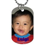 kids_dogtag - Dog Tag (Two Sides)
