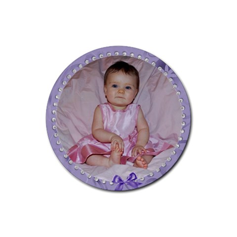 Kinley Coaster By Tracy Peterman   Rubber Coaster (round)   Gpzhcx4aigiu   Www Artscow Com Front