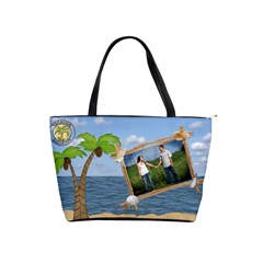 Tropical Vacation Shoulder  Bag By Lil    Classic Shoulder Handbag   23grfwo7f57t   Www Artscow Com Front