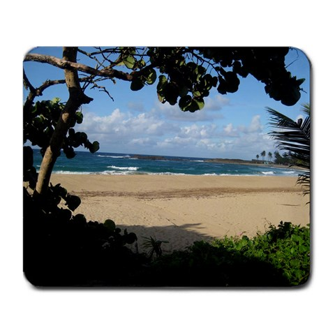 Isabela Beach In Puerto Rico  By Kate   Large Mousepad   Qnyrynhmsg51   Www Artscow Com Front
