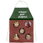 World s Best Grandma Apron - Full Print Apron