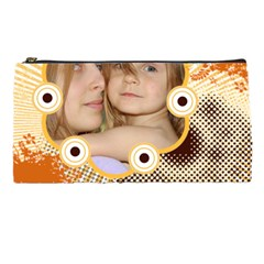 Circle  By Wood Johnson   Pencil Case   Dd373jp2s8v7   Www Artscow Com Front