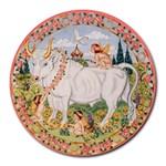 Taurus Zodiac Mousepad - Round Mousepad