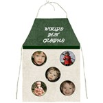 World s Best Grandma Apron - 2 - Full Print Apron