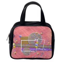 Beautiful Bag Two Sides By Angel   Classic Handbag (two Sides)   1ym4e9spyp7m   Www Artscow Com Back